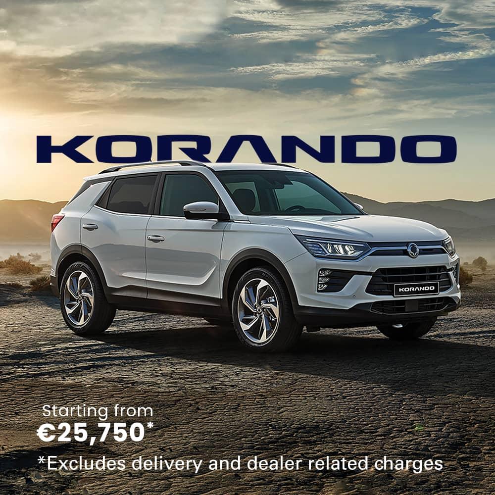 Ssangyong Ireland - Korando